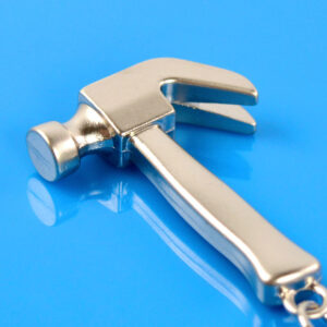 Creative mini tool key foddle hammer metal souvenir small gift event gift items are made