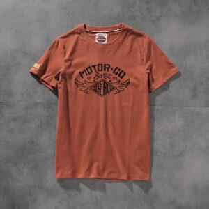Air-rainbow spring/summer water wash hair print comfortable men's round-neck short-sleeved T-shirt youth half-sleeve AR802