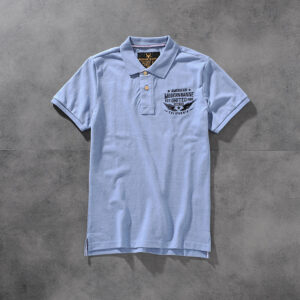 Modern banner spring/summer American click beaded cotton embroidered men's round-neck short-sleeved POLO shirt M703