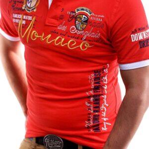 Men's spring/summer 2019 new short-sleeved t-shirt foreign trade source men's top t-shirt letter printed V-neck short sleeves