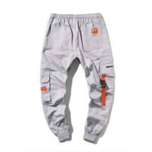 Men's large-size workwear trousers multi-pocket leggings foreign trade large size weaver loose sweatpants K205