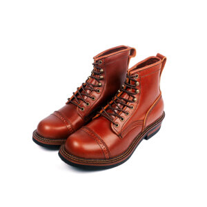 Amey-Martin Boots American Vintage Leather Locomotive Newest color