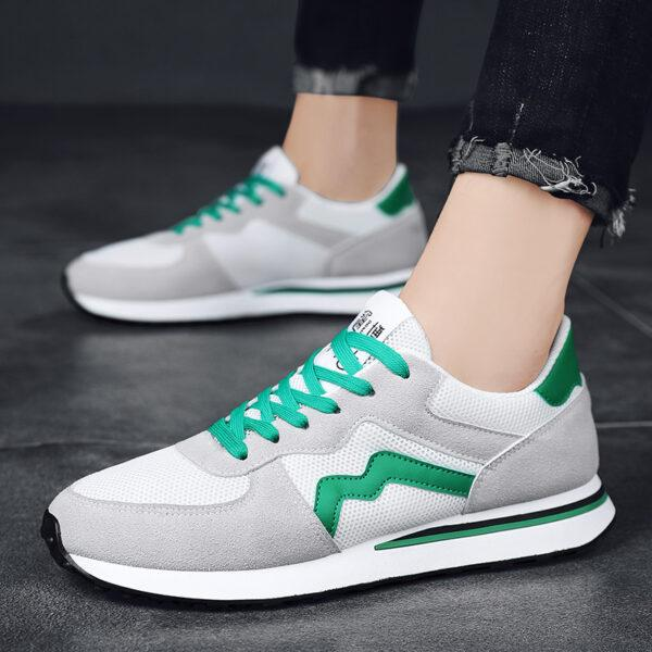 autumn new Forrest Gump shoes small white shoes sneakers tide shoes men's shoes father shoes breathable board shoes a hair