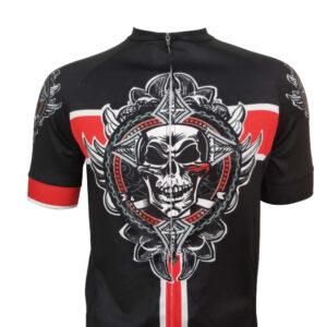 Cycling uniform short-sleeved men's summer breathable biker shirt road mountain bike bike top