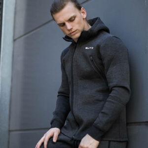 Muscle Fitness Brothers Autumn/Winter Men's Men's Wear New Casual HoodEd Zip Shirt Men's Wear Custom