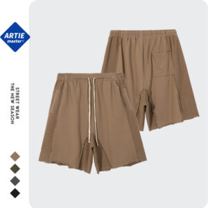 ARTIE Men's | Original Tidal Oversize Loose Men's Shorts Heavy Anti-Stitch Tide Men's Casual Shorts