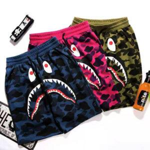 2021 Foreign trade summer youth casual transport pants dynamic multi-color ordinary cartoon animation waist bullet-free shorts