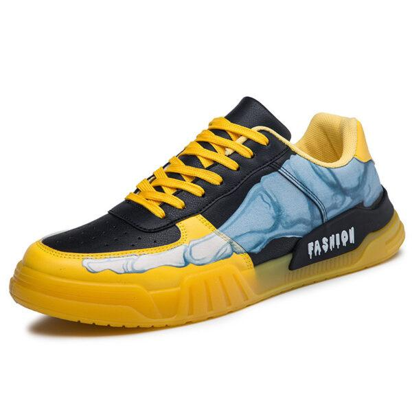 Spring 2021 new cross-border men's hip-hop trend board shoes personality men's sports tide shoes casual men's shoes wholesale